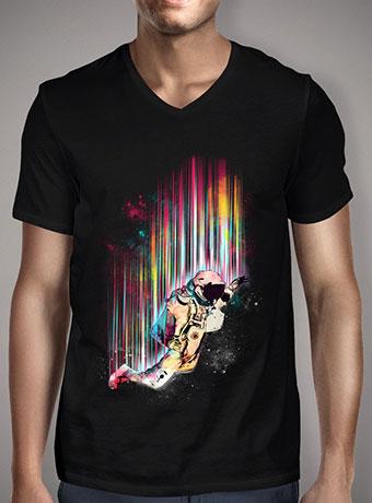 Мужская футболка с V-образным вырезом Fallin