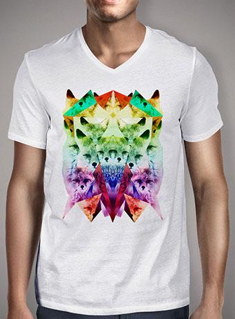 Мужская футболка с V-образным вырезом Foxes