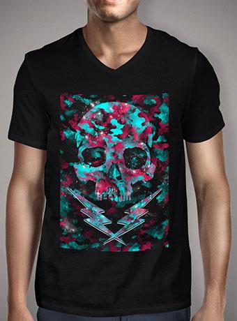 Мужская футболка с V-образным вырезом Galactic Camou