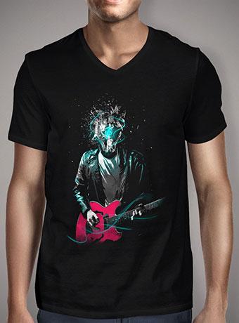 Мужская футболка с V-образным вырезом Head Bang