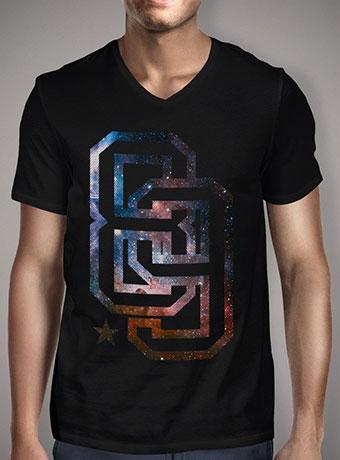 Мужская футболка с V-образным вырезом Infinite 89