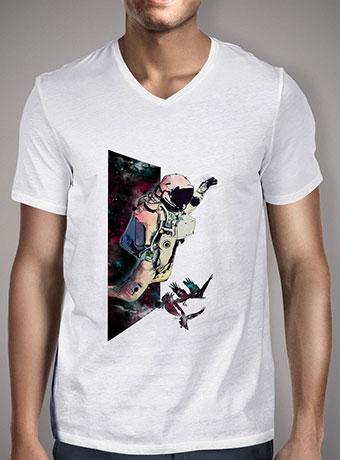 Мужская футболка с V-образным вырезом Jumper