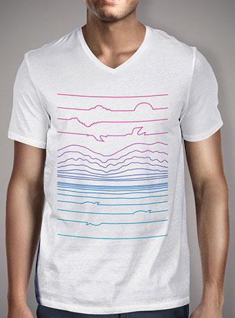 Мужская футболка с V-образным вырезом Linescape