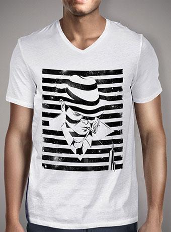 Мужская футболка с V-образным вырезом Love Noir