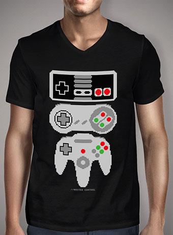 Мужская футболка с V-образным вырезом Master Control