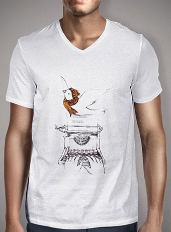 Мужская футболка с V-образным вырезом My Autumn Stories