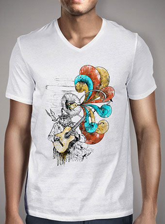 Мужская футболка с V-образным вырезом Old Lullaby