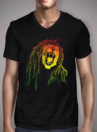 Мужская футболка с V-образным вырезом Reggae Jungle