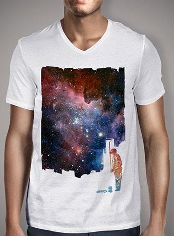 Мужская футболка с V-образным вырезом Repainted