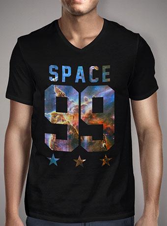 Мужская футболка с V-образным вырезом Space 99