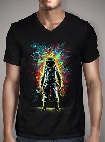 Мужская футболка с V-образным вырезом Subconscious Inner Space