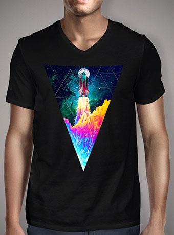 Мужская футболка с V-образным вырезом Take Off