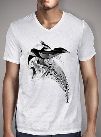 Мужская футболка с V-образным вырезом The Awaken