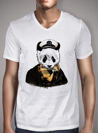 Мужская футболка с V-образным вырезом The Captain V2