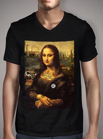 Мужская футболка с V-образным вырезом The Modern Mona
