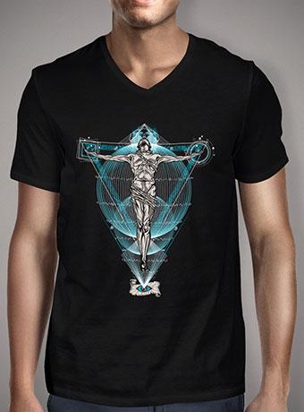 Мужская футболка с V-образным вырезом The Vision