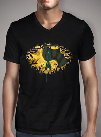 Мужская футболка с V-образным вырезом Wet Dream