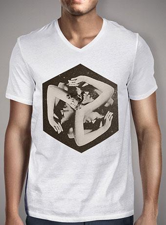 Мужская футболка с V-образным вырезом Box