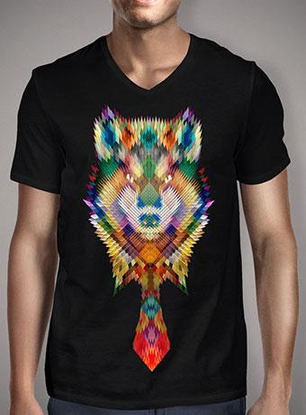 Мужская футболка с V-образным вырезом Corporate Wolf