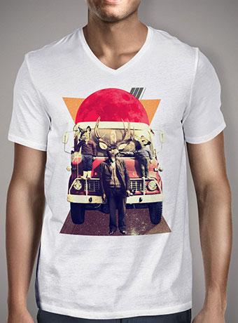 Мужская футболка с V-образным вырезом El Camion