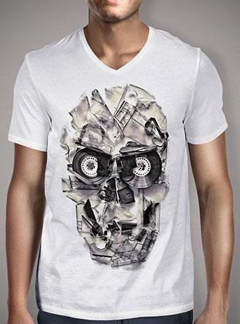 Мужская футболка с V-образным вырезом Home Taping Is Dead