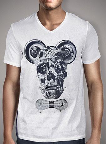Мужская футболка с V-образным вырезом Mechanics