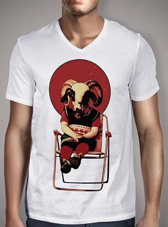 Мужская футболка с V-образным вырезом Sit Tight