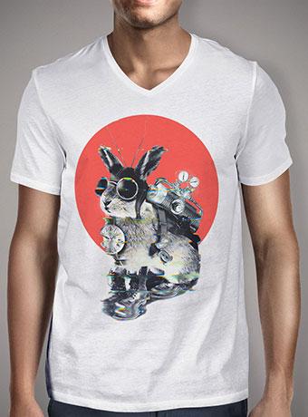 Мужская футболка с V-образным вырезом Time Traveller