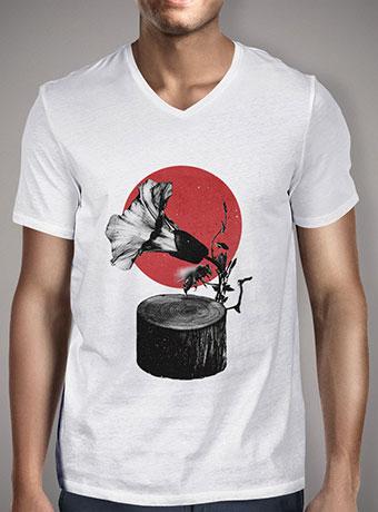 Мужская футболка с V-образным вырезом Gramophone