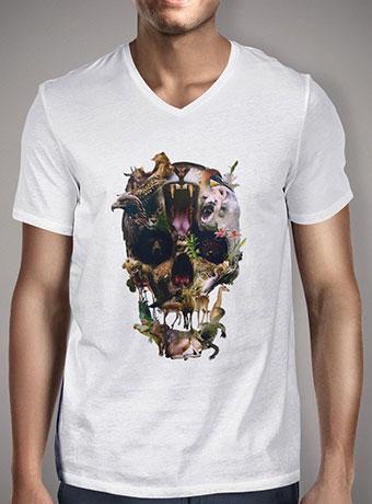 Мужская футболка с V-образным вырезом Kingdom
