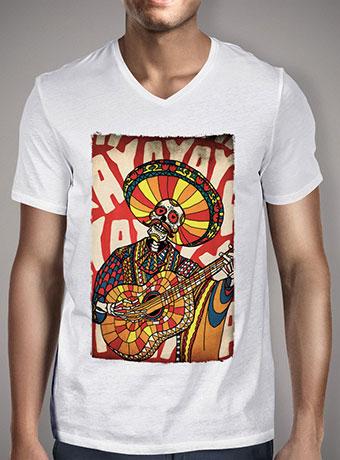 Мужская футболка с V-образным вырезом Mariachi