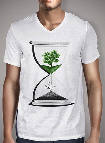 Мужская футболка с V-образным вырезом We Are Drying Out