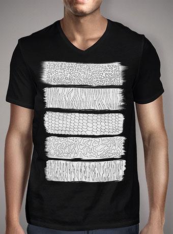Мужская футболка с V-образным вырезом Wild Abstraction