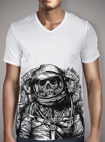 Мужская футболка с V-образным вырезом Dead Astronaut