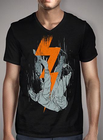 Мужская футболка с V-образным вырезом Fall Effect