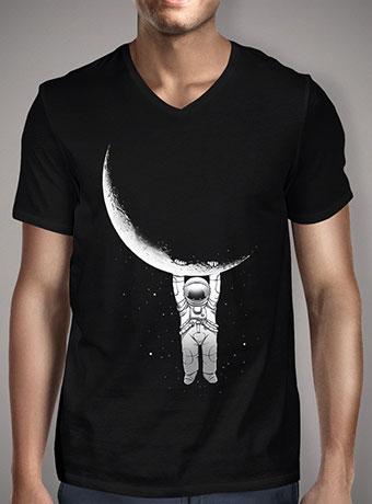 Мужская футболка с V-образным вырезом Help