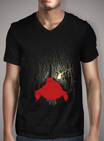 Мужская футболка с V-образным вырезом Lost in the Forest