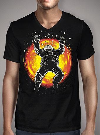 Мужская футболка с V-образным вырезом Lost in the Space