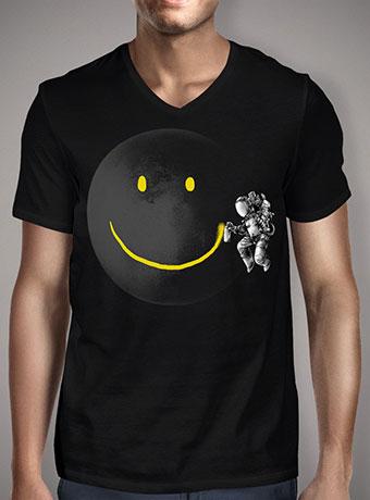 Мужская футболка с V-образным вырезом Make a Smile