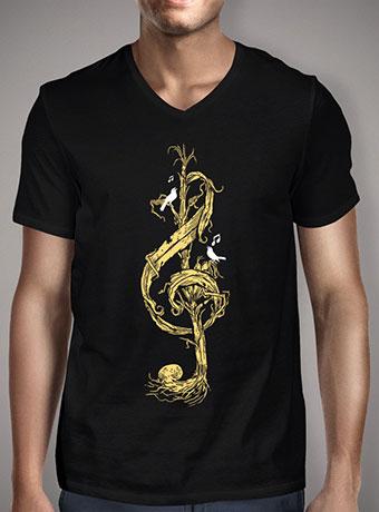 Мужская футболка с V-образным вырезом Natural Melody