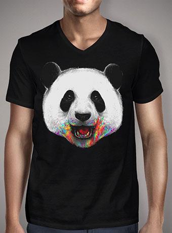Мужская футболка с V-образным вырезом Where is the Rainbow?