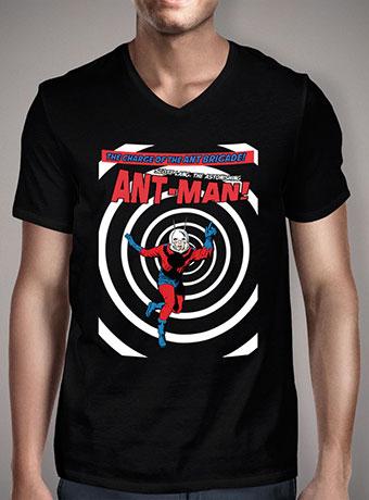 Мужская футболка с V-образным вырезом Ant-Man Brigade
