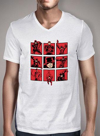 Мужская футболка с V-образным вырезом Daredevils