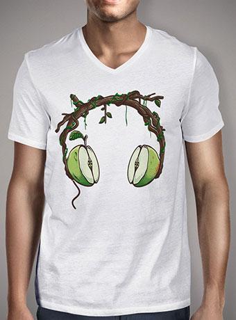 Мужская футболка с V-образным вырезом Apple Beats