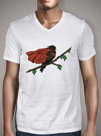 Мужская футболка с V-образным вырезом Superbird