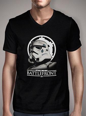Мужская футболка с V-образным вырезом Battlefront Stormtrooper