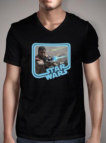Мужская футболка с V-образным вырезом Finn Fights Back