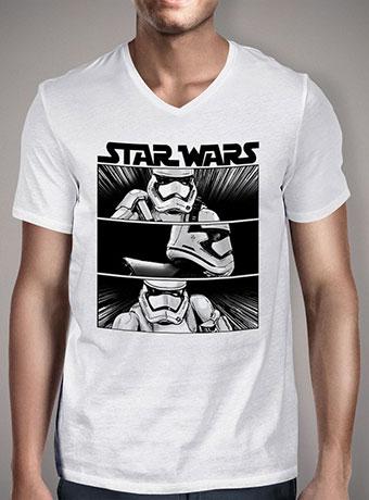 Мужская футболка с V-образным вырезом First Order To Arms