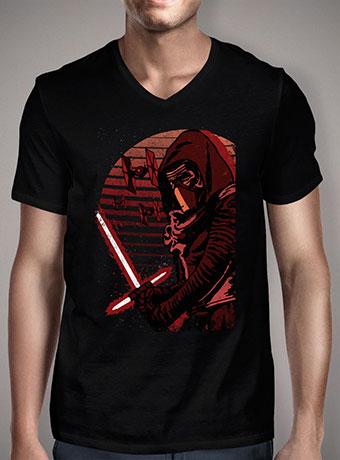 Мужская футболка с V-образным вырезом Kylo Ren Rises