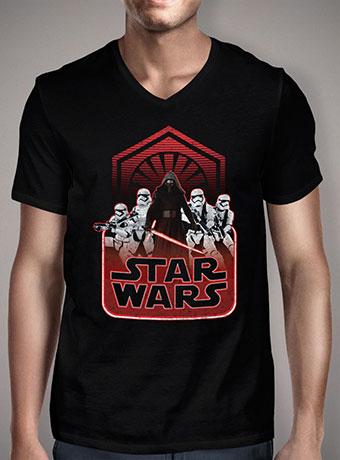 Мужская футболка с V-образным вырезом Kylo Rens Army